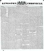 Kingston Chronicle (Kingston, ON1819), July 17, 1830