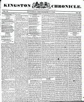 Kingston Chronicle, 18 September 1830