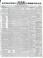 Kingston Chronicle, 2 October 1830