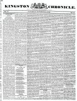 Kingston Chronicle, 9 October 1830