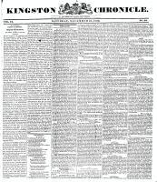 Kingston Chronicle (Kingston, ON1819), November 13, 1830