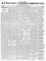 Kingston Chronicle, 27 November 1830