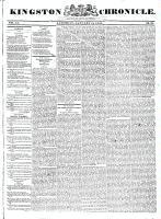 Kingston Chronicle, 15 January 1831