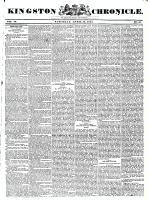 Kingston Chronicle, 16 April 1831