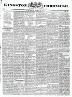 Kingston Chronicle, 30 April 1831