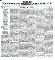 Kingston Chronicle, 21 May 1831