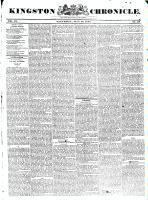 Kingston Chronicle (Kingston, ON1819), May 28, 1831