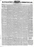 Kingston Chronicle, 11 June 1831