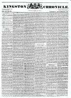 Kingston Chronicle (Kingston, ON1819), November 26, 1831