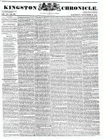 Kingston Chronicle (Kingston, ON1819), December 3, 1831
