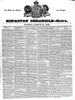 Kingston Chronicle (Kingston, ON1819), March 13, 1832