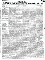 Kingston Chronicle, 7 April 1832
