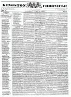 Kingston Chronicle (Kingston, ON1819), April 21, 1832
