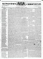Kingston Chronicle (Kingston, ON1819), May 5, 1832