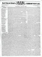 Kingston Chronicle (Kingston, ON1819), May 26, 1832