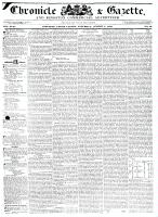 Chronicle & Gazette, 1 August 1835