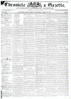 Chronicle & Gazette, 5 August 1835