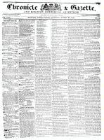 Chronicle & Gazette, 22 August 1835