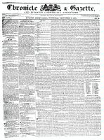 Chronicle & Gazette, 2 September 1835