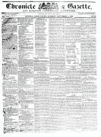 Chronicle & Gazette, 5 September 1835