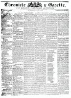Chronicle & Gazette, 9 September 1835