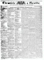 Chronicle & Gazette, 16 September 1835