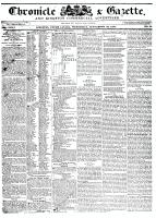 Chronicle & Gazette, 23 September 1835