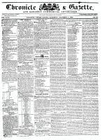 Chronicle & Gazette, 3 October 1835