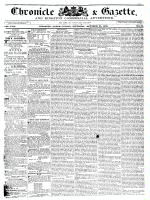 Chronicle & Gazette, 24 October 1835