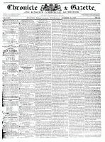 Chronicle & Gazette, 28 October 1835