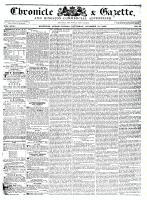 Chronicle & Gazette, 31 October 1835