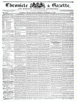 Chronicle & Gazette, 14 November 1835