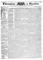 Chronicle & Gazette, 25 November 1835
