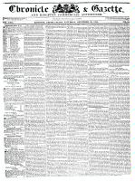 Chronicle & Gazette, 28 November 1835