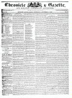 Chronicle & Gazette, 2 December 1835