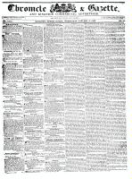 Chronicle & Gazette, 6 January 1836