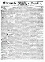 Chronicle & Gazette, 9 January 1836