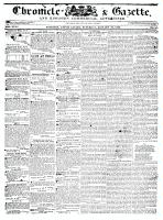 Chronicle & Gazette, 16 January 1836