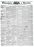 Chronicle & Gazette, 23 January 1836