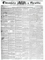 Chronicle & Gazette (Kingston, ON), January 30, 1836