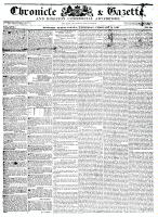 Chronicle & Gazette (Kingston, ON), February 3, 1836