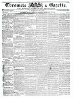 Chronicle & Gazette (Kingston, ON), February 10, 1836
