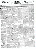 Chronicle & Gazette (Kingston, ON), February 27, 1836