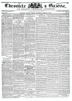 Chronicle & Gazette (Kingston, ON), March 5, 1836