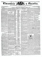 Chronicle & Gazette (Kingston, ON), March 9, 1836
