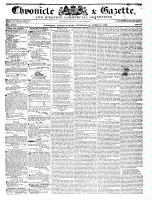 Chronicle & Gazette, 6 April 1836