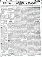 Chronicle & Gazette, 23 April 1836