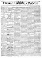 Chronicle & Gazette, 27 April 1836