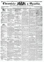 Chronicle & Gazette, 4 May 1836