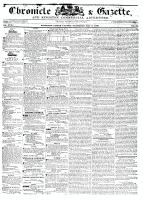 Chronicle & Gazette, 7 May 1836
